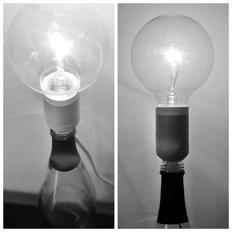 Tips på busenkel lampa